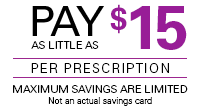 Co-pay Coupon: Pay as Little as $15 per Prescription for PREVYMIS™ (letermovir)